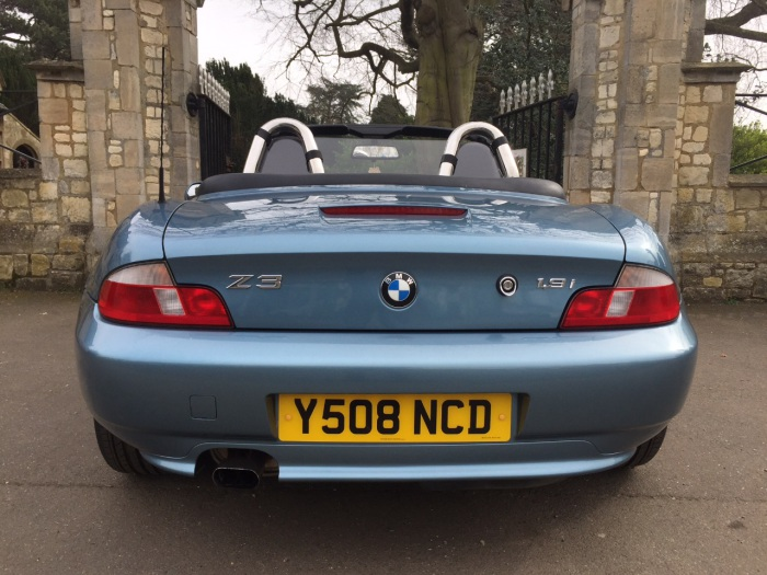 BMW Z3 1.9 8V 2dr Convertible Petrol Blue