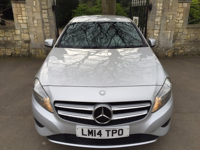 Mercedes-Benz A Class 1.6 A180 BlueEFFICIENCY SE 5dr Hatchback Petrol Silver
