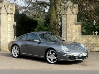 Porsche 911 3.6 2dr Tiptronic S Coupe Petrol Meteor GreyPorsche 911 3.6 2dr Tiptronic S Coupe Petrol Meteor Grey at New March Car Centre March