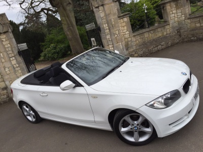 BMW 1 Series 2.0 118i Sport 2dr convertible Convertible Petrol WhiteBMW 1 Series 2.0 118i Sport 2dr convertible Convertible Petrol White at New March Car Centre March