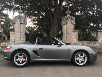 Porsche Boxster 3.2 S 2dr Convertible Petrol GreyPorsche Boxster 3.2 S 2dr Convertible Petrol Grey at New March Car Centre March