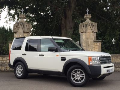 Land Rover Discovery 4.0 V6 Four Wheel Drive Petrol WhiteLand Rover Discovery 4.0 V6 Four Wheel Drive Petrol White at New March Car Centre March