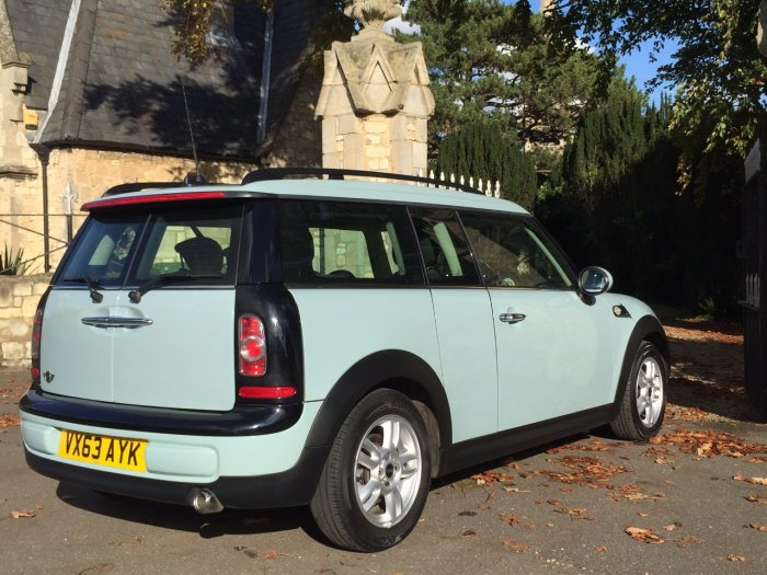 Mini Clubman 1.6 Cooper D 5dr Estate Diesel Blue