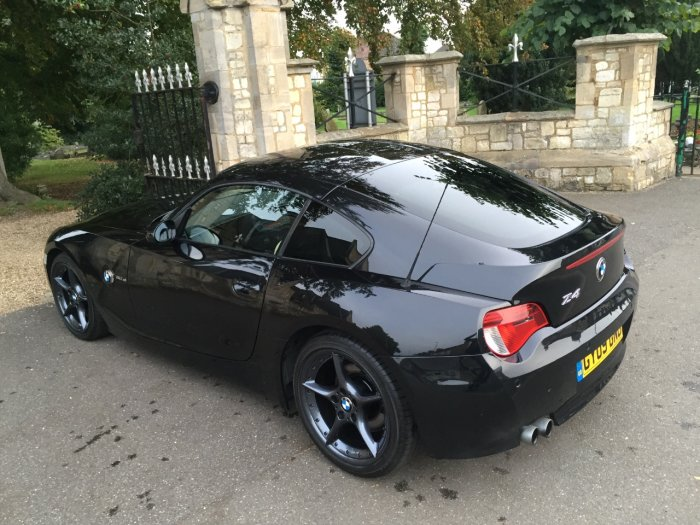 BMW Z4 3.0si Sport 2dr Coupe Petrol Black