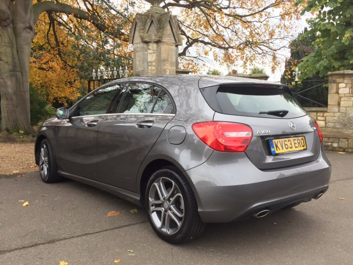 Mercedes-Benz A Class 1.5 A180 CDI BlueEFFICIENCY Sport 5dr Hatchback Diesel Grey
