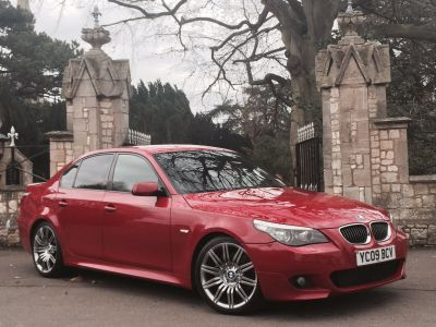 BMW 5 Series 3.0 Facelift 535d M Sport 4dr Step Auto Saloon Diesel RedBMW 5 Series 3.0 Facelift 535d M Sport 4dr Step Auto Saloon Diesel Red at New March Car Centre March
