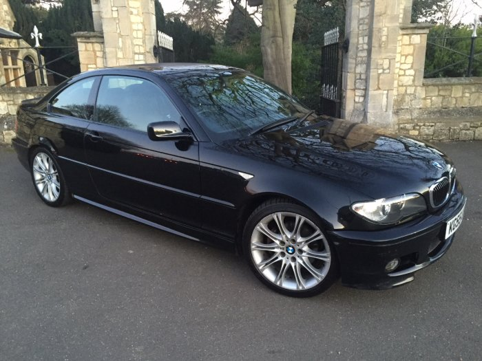 BMW 3 Series 2.5 325 Ci Sport 2dr Auto Coupe Petrol Black