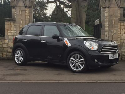 Mini Countryman 2.0 Cooper D ALL4 5dr Auto Hatchback Diesel BlackMini Countryman 2.0 Cooper D ALL4 5dr Auto Hatchback Diesel Black at New March Car Centre March