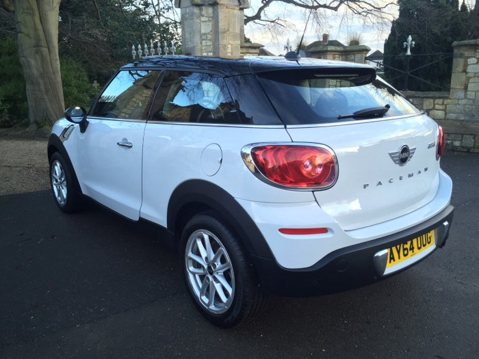 Mini Paceman 1.6 Cooper Chilli Pack 3dr Coupe Petrol White