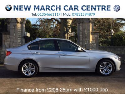 BMW 3 Series 2.0 316d Sport 4dr Saloon Diesel SilverBMW 3 Series 2.0 316d Sport 4dr Saloon Diesel Silver at New March Car Centre March