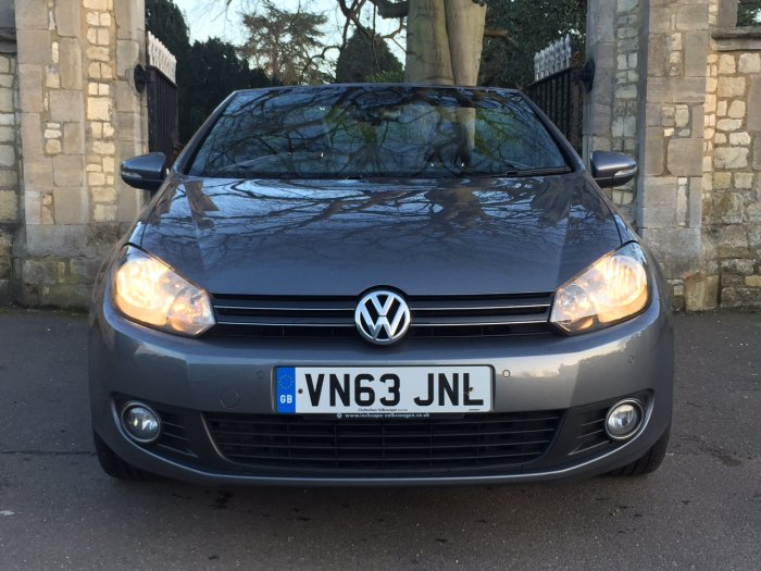 Volkswagen Golf 2.0 TDI BlueMotion Tech GT 2dr Convertible Diesel Grey