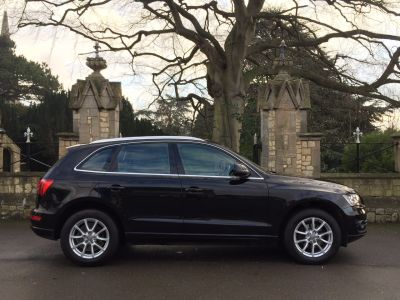 Audi Q5 2.0 TDI Quattro SE 5dr [Start Stop] Estate Diesel BlackAudi Q5 2.0 TDI Quattro SE 5dr [Start Stop] Estate Diesel Black at New March Car Centre March