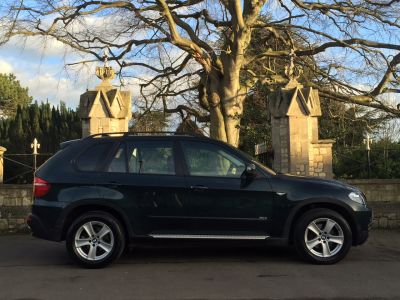 BMW X5 3.0d SE 5dr Auto Estate Diesel GreenBMW X5 3.0d SE 5dr Auto Estate Diesel Green at New March Car Centre March