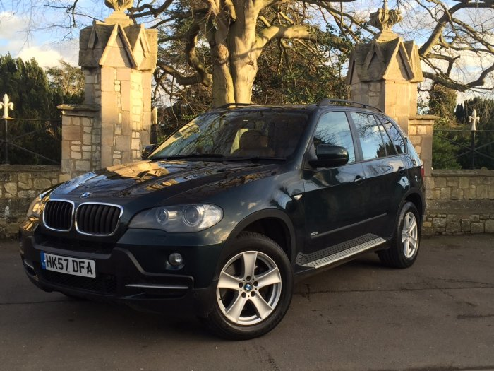 BMW X5 3.0d SE 5dr Auto Estate Diesel Green
