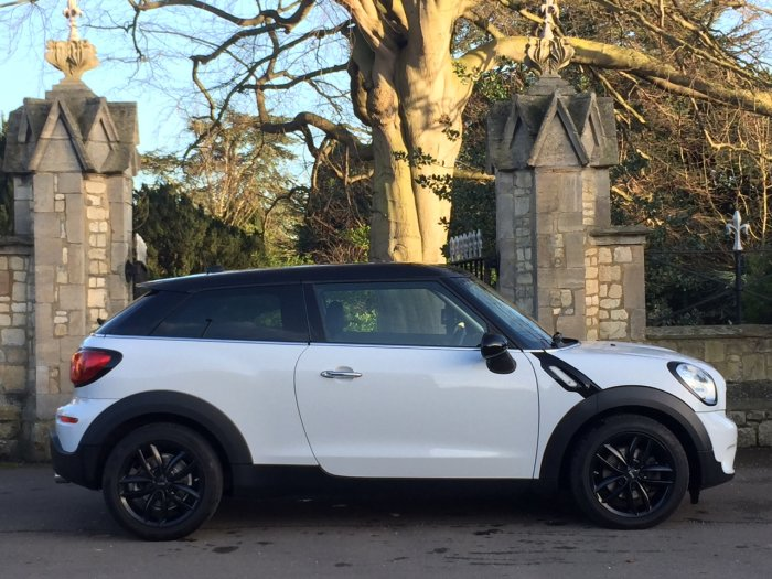 Mini Paceman 1.6 Cooper D Chili Pack Coupe Diesel White