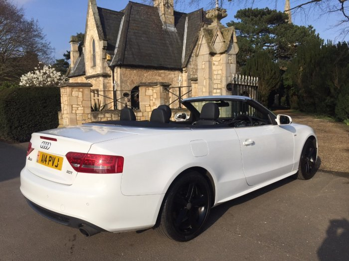 Audi A5 2.0T FSI S Line 2dr [Start Stop] Convertible Petrol White