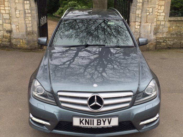 Mercedes-Benz C Class 2.1 C220 CDI BlueEFFICIENCY Sport 5dr Auto Estate Diesel Grey