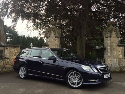 Mercedes-Benz E Class 3.0 E350 SPORT CDI BLUEEF-CY 7 SEATER Estate Diesel BlueMercedes-Benz E Class 3.0 E350 SPORT CDI BLUEEF-CY 7 SEATER Estate Diesel Blue at New March Car Centre March