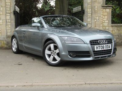 Audi TT 2.0T FSI 2dr Convertible Petrol GreyAudi TT 2.0T FSI 2dr Convertible Petrol Grey at New March Car Centre March