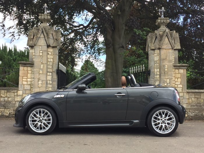 Mini Roadster 1.6 Cooper S 2dr Convertible Petrol Grey