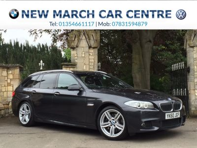 BMW 5 Series 3.0 525d M Sport Touring 5dr Step Auto 6 cylinder Estate Diesel GreyBMW 5 Series 3.0 525d M Sport Touring 5dr Step Auto 6 cylinder Estate Diesel Grey at New March Car Centre March