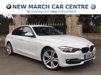 BMW 3 Series 2.0 320d Sport 4dr Saloon Diesel WhiteBMW 3 Series 2.0 320d Sport 4dr Saloon Diesel White at New March Car Centre March