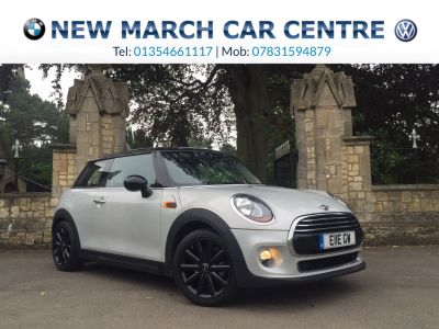 Mini Hatchback 1.5 Cooper D 3dr Hatchback Diesel SilverMini Hatchback 1.5 Cooper D 3dr Hatchback Diesel Silver at New March Car Centre March