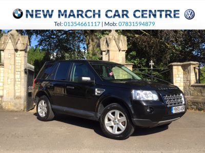 Land Rover Freelander 2.2 Td4 e GS 5dr Estate Diesel BlackLand Rover Freelander 2.2 Td4 e GS 5dr Estate Diesel Black at New March Car Centre March
