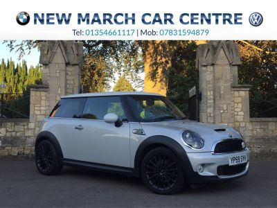 Mini Hatchback 1.6 Cooper S Camden 3dr Hatchback Petrol SilverMini Hatchback 1.6 Cooper S Camden 3dr Hatchback Petrol Silver at New March Car Centre March