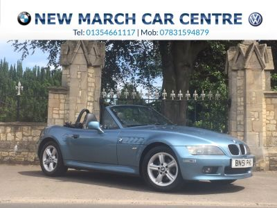 BMW Z3 1.9 8V 2dr Convertible Petrol Atlantic BlueBMW Z3 1.9 8V 2dr Convertible Petrol Atlantic Blue at New March Car Centre March