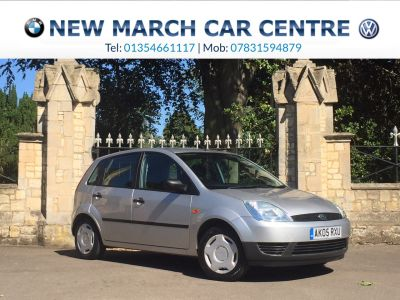 Ford Fiesta 1.25 Finesse 5dr Hatchback Petrol SilverFord Fiesta 1.25 Finesse 5dr Hatchback Petrol Silver at New March Car Centre March