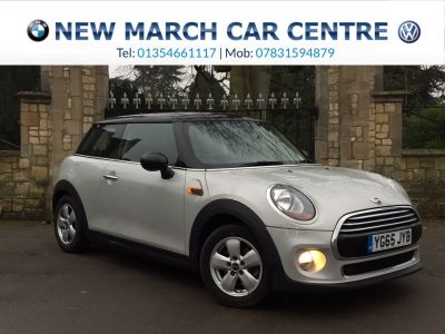 Mini Hatchback 1.5 Cooper D 3dr Hatchback Diesel White SilverMini Hatchback 1.5 Cooper D 3dr Hatchback Diesel White Silver at New March Car Centre March