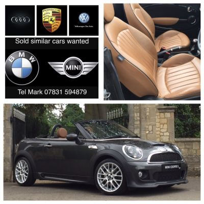 Mini Roadster 1.6 Cooper S 2dr Convertible Petrol GreyMini Roadster 1.6 Cooper S 2dr Convertible Petrol Grey at New March Car Centre March