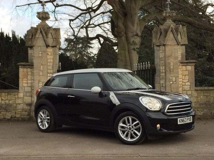Mini Paceman 1.6 Cooper D Chilli 3dr Coupe Diesel Black