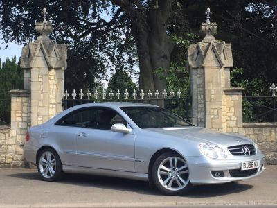 Mercedes-Benz CLK 2.1 220 CDi Avantgarde 2dr Tip Auto Coupe Diesel SilverMercedes-Benz CLK 2.1 220 CDi Avantgarde 2dr Tip Auto Coupe Diesel Silver at New March Car Centre March
