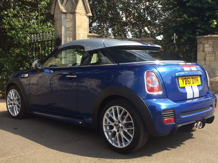 Mini Coupe 2.0 Cooper S D 3dr Auto John Cooper Works Coupe Diesel Blue