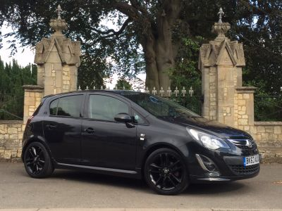 Vauxhall Corsa 1.2 Limited Edition 5dr Hatchback Petrol BlackVauxhall Corsa 1.2 Limited Edition 5dr Hatchback Petrol Black at New March Car Centre March