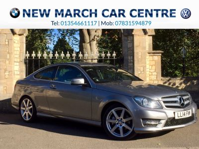 Mercedes-Benz C Class 2.1 C220 CDI AMG Sport Edition Coupe 2dr Auto [Premium] Coupe Diesel SilverMercedes-Benz C Class 2.1 C220 CDI AMG Sport Edition Coupe 2dr Auto [Premium] Coupe Diesel Silver at New March Car Centre March