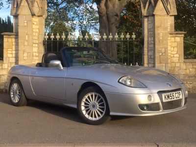 Fiat Barchetta 1.8 16V 2dr [LHD] Convertible Petrol SilverFiat Barchetta 1.8 16V 2dr [LHD] Convertible Petrol Silver at New March Car Centre March