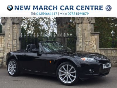 Mazda MX-5 2.0i Sport 2dr Convertible Petrol BlackMazda MX-5 2.0i Sport 2dr Convertible Petrol Black at New March Car Centre March