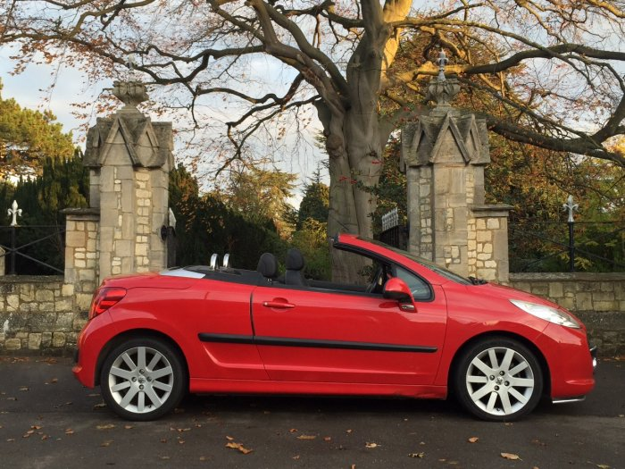 Peugeot 207 1.6 16V GT 2dr Coupe Petrol Red