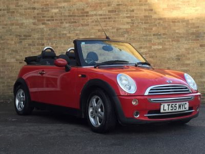 Mini Convertible 1.6 One 2dr Convertible Petrol RedMini Convertible 1.6 One 2dr Convertible Petrol Red at New March Car Centre March