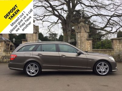 Mercedes-Benz E Class 3.0 E350 CDI BlueEFF [265] Sport Ed 125 5dr Tip Auto Estate Diesel GreyMercedes-Benz E Class 3.0 E350 CDI BlueEFF [265] Sport Ed 125 5dr Tip Auto Estate Diesel Grey at New March Car Centre March
