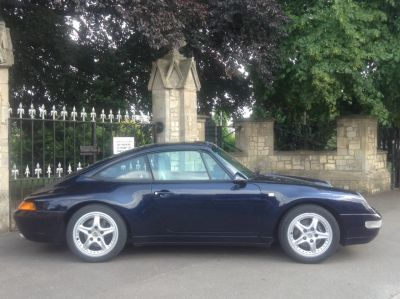 Porsche 911 3.6 993 Sports Petrol BluePorsche 911 3.6 993 Sports Petrol Blue at New March Car Centre March