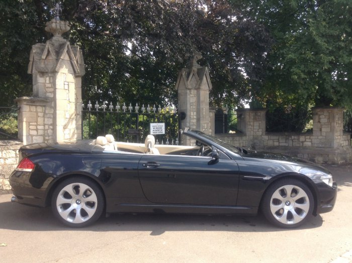 BMW 6 Series 4.4 645Ci 2dr Auto Convertible Petrol Black
