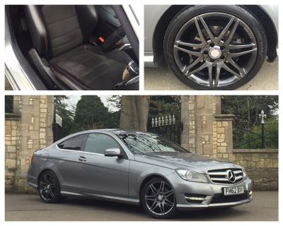 Mercedes-Benz C Class 2.1 C250 CDI BlueEFFICIENCY AMG Sport Plus 2dr Auto Coupe Diesel SilverMercedes-Benz C Class 2.1 C250 CDI BlueEFFICIENCY AMG Sport Plus 2dr Auto Coupe Diesel Silver at New March Car Centre March