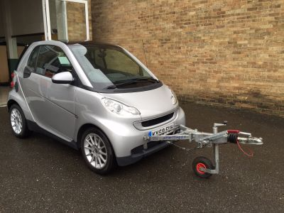 Smart Fortwo Coupe 1.0 Passion 2dr Auto [84] Motorhome A Frame Coupe Petrol SilverSmart Fortwo Coupe 1.0 Passion 2dr Auto [84] Motorhome A Frame Coupe Petrol Silver at New March Car Centre March