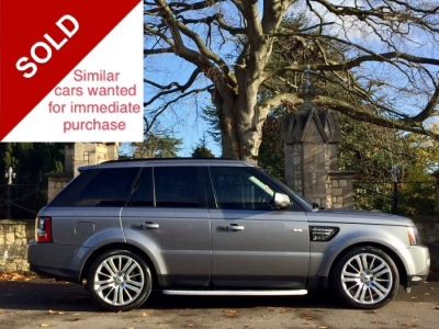 Land Rover Range Rover Sport 3.0 SDV6 HSE 5dr Auto Estate Diesel GreyLand Rover Range Rover Sport 3.0 SDV6 HSE 5dr Auto Estate Diesel Grey at New March Car Centre March