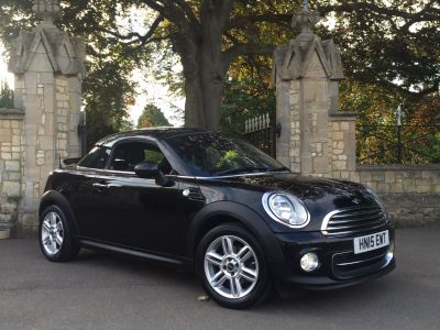 Mini Coupe 1.6 Cooper Sport Pepper pack 3dr Coupe Petrol BlackMini Coupe 1.6 Cooper Sport Pepper pack 3dr Coupe Petrol Black at New March Car Centre March
