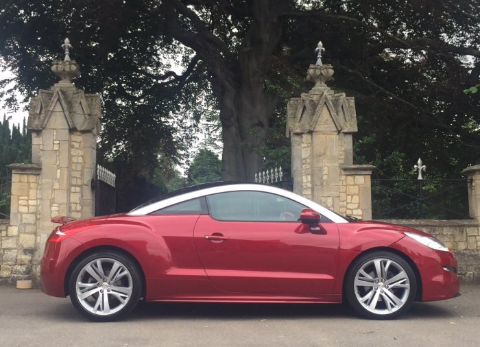 Peugeot RCZ 1.6 THP GT 2dr Coupe Petrol Red